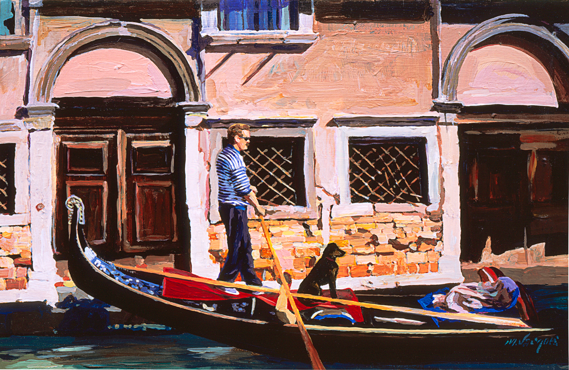 The Gondolier by Michael L. Jacques, MFA